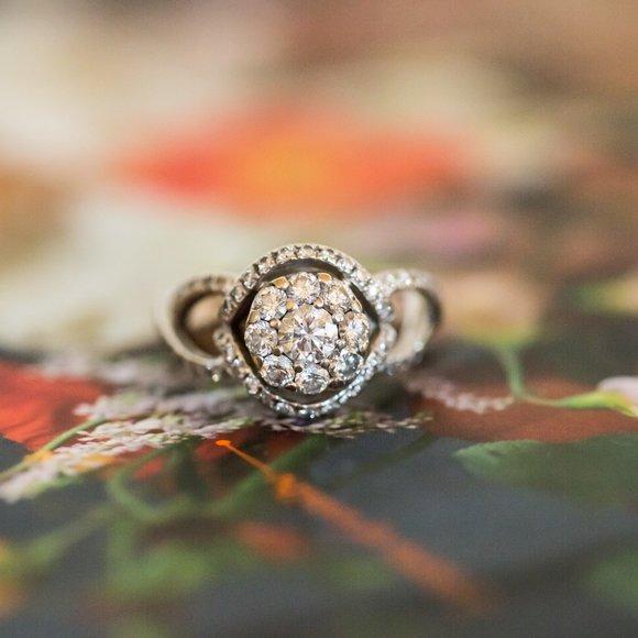 Bailey Banks and Biddle Diamond Ring